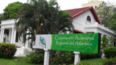 Fachada de la Corporación Autónoma Regional.