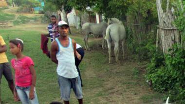 Caballo fue embestido por un toro en fiestas de corralejas de Cañaveral