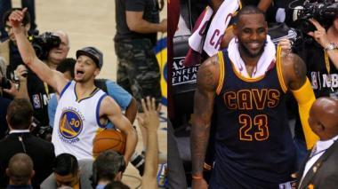 """Curry y """"King"""" James están listos para el gran duelo-revancha"""