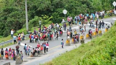 Muere líder indígena en medio de protestas por paro agrario en Cauca