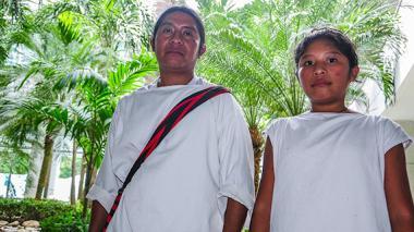 Los wiwa llegan al cine para tejer su tradición
