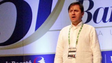 El presidente de la junta directiva de la Asobancaria, Orlando Forero.