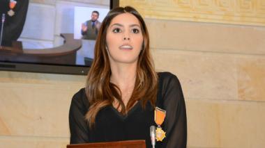 """""""Recibo este título en nombre de las 25 millones de mujeres colombianas"""": Paulina Vega"""