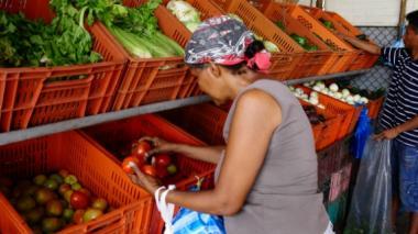 Se afianza en Barranquilla el  alza de precios de los alimentos