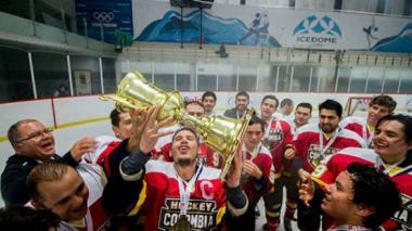 Colombia gana Panamericano de hockey sobre hielo en México