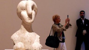 Definen propiedad de 'Busto de mujer', la disputada escultura de Pablo Picasso