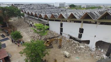 Interrupción de energía y cierres viales por demolición del Coliseo Humberto Perea