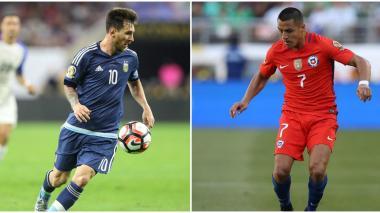 La batalla de los goleadores: Messi-Higuaín vs. Vargas-Alexis