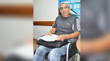 Azael Enrique Márquez Verbel,  líder de víctimas del municipio de Toluviejo.