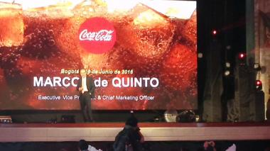 Marcos de Quinto, director de marketing de The Coca-cola Company.