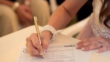 En Colombia, son más los que se casan que los que se divorcian