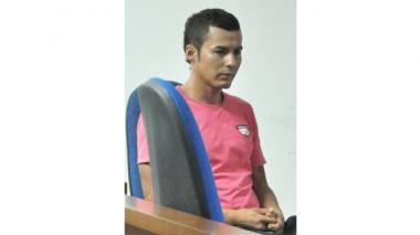 Edward Padilla, detenido.