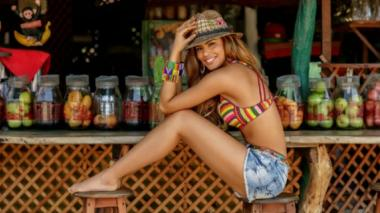 Ariadna regresa como top model al país, después de Miss Universo