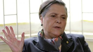 Clara López, ministra de Trabajo.