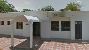 Instalaciones de Medicina Legal en Maicao.