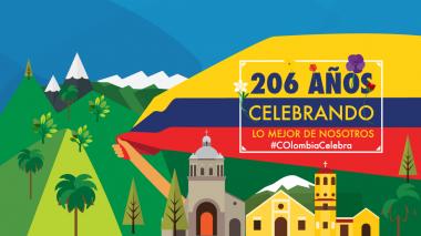 ProColombia y Marca País impulsan #Colombia celebra para el día de la independencia