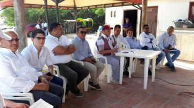 Concejo de Barranquilla sesionó hoy desde la Ciénaga de Mallorquín.