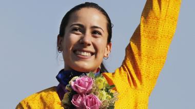 Mariana Pajón se colgó el segundo oro olímpico en la historia de Colombia.