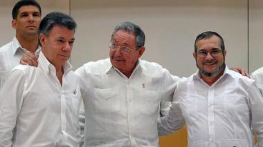 Según encuesta, 57% de los colombianos cree que la paz se firmará este año