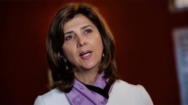 María Ángela Holguín, canciller colombiana.