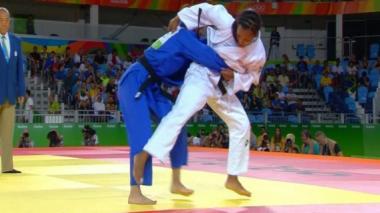 La judoca Yadinis Amaris pierde en la ronda de eliminación en Río