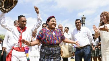"""""""Colombia está en la antesala de la construcción de una paz firme"""""""