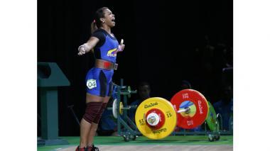Leidy Solís acarició el bronce, pero se quedó con el diploma olímpico