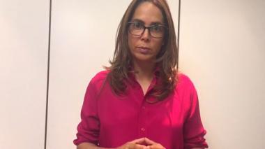 """""""Me duelen los insultos que escuché en las manifestaciones"""": Ministra Gina Parody"""