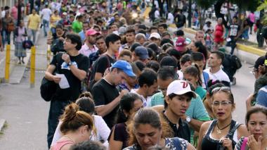 Por Cúcuta ingresaron para abastecerse