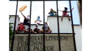 30 de octubre de 2014: un grupo de internas, varias 'Camaradas', protestaron por supuestos malos tratos.