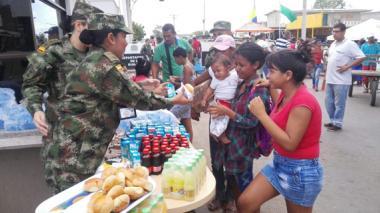 Más de 40.000 personas se han movilizado en el tercer día de reapertura de la frontera