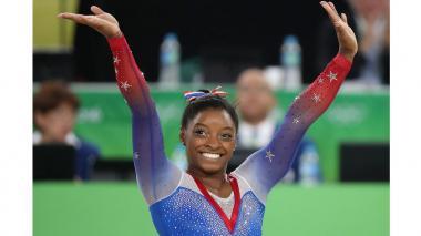 La gimnasta Simone Biles gana su cuarto oro en Río