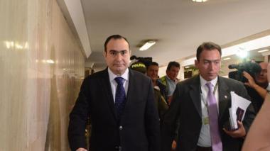 El magistrado Jorge Pretelt podría ser separado de su cargo el martes por la plenaria del Senado.
