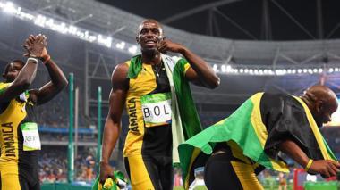 En video: El baile olímpico de Usain Bolt