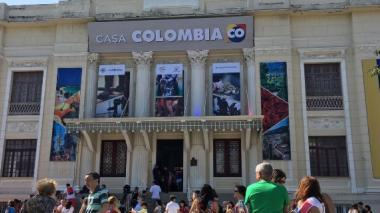 Cerca de 5.000 personas visitaron cada día la casa Colombia en los Juegos de Río