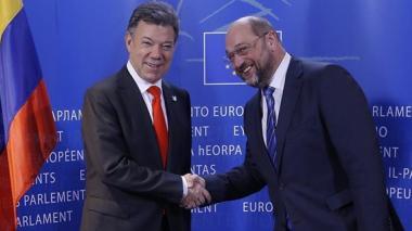 Presidente de Parlamento Europeo visitará Colombia y oficializará su apoyo al proceso de paz