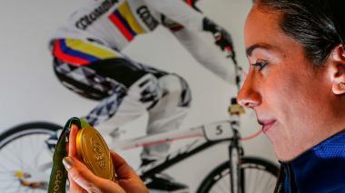 """""""Disfruta de lo que estás haciendo y lucha todos los días"""": Mariana Pajón a los deportistas"""