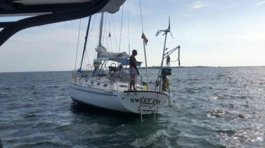 Socorren a un velero en las islas del Rosario