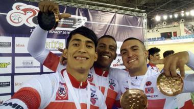 En Panamericano de ciclismo, Jair Mojica consigue un oro