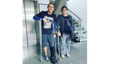 Jossimar Calvo se somete a una cirugía de tobillo