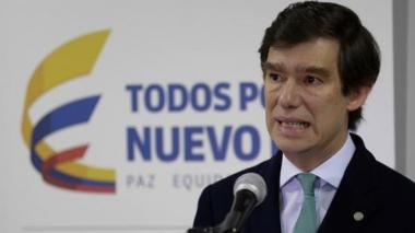 Francisco Reyes Villamizar, superintendente de sociedades.
