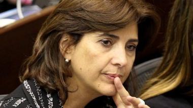 Maria Angela Holguín, canciller.