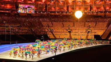 Con música y una fiesta de colores, se dio inicio a los Juegos Paralímpicos Río 2016