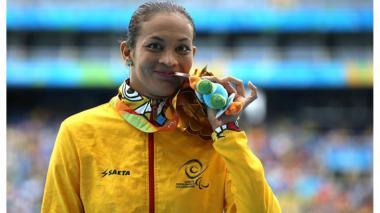 Martha Hernández gana bronce en los Juegos Paralímpicos
