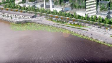 Comienzan obras del Gran Malecón del Río