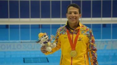 El nadador Nelson Crispín gana medalla de plata en los Paralímpicos