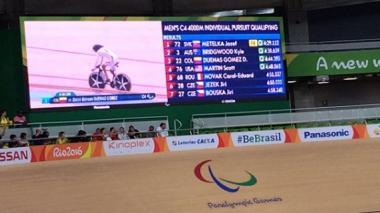 Diego Dueñas gana bronce para Colombia en ciclismo