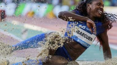Caterine Ibargüen conquista su cuarta Liga de Diamante