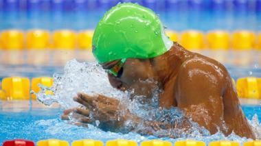 Carlos Serrano le da la primera medalla de oro a Colombia en los Juegos Paralímpicos Río 2016