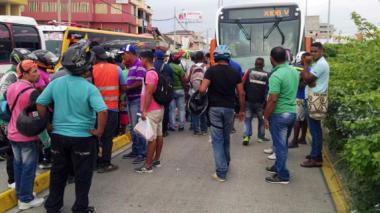 Bus de Transcaribe atropella a una menor en Bazurto